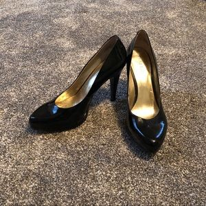 Nine West Black Patent Leather Heel
